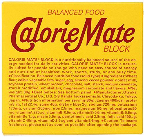 Otsuka Calorie Mate Balanced Food Chocolate 2.82oz/80g