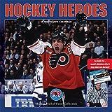 Hockey Heroes 2018 12 x 12 Inch Monthly Square Wall Calendar by Wyman, Sport Celebrity