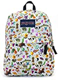 Jansport Superbreak Backpack (multi stickers)