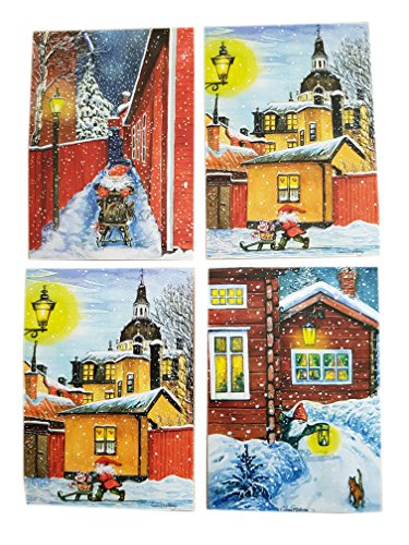 Swedish Christmas Card Variety Pack - 100 Cards - ()