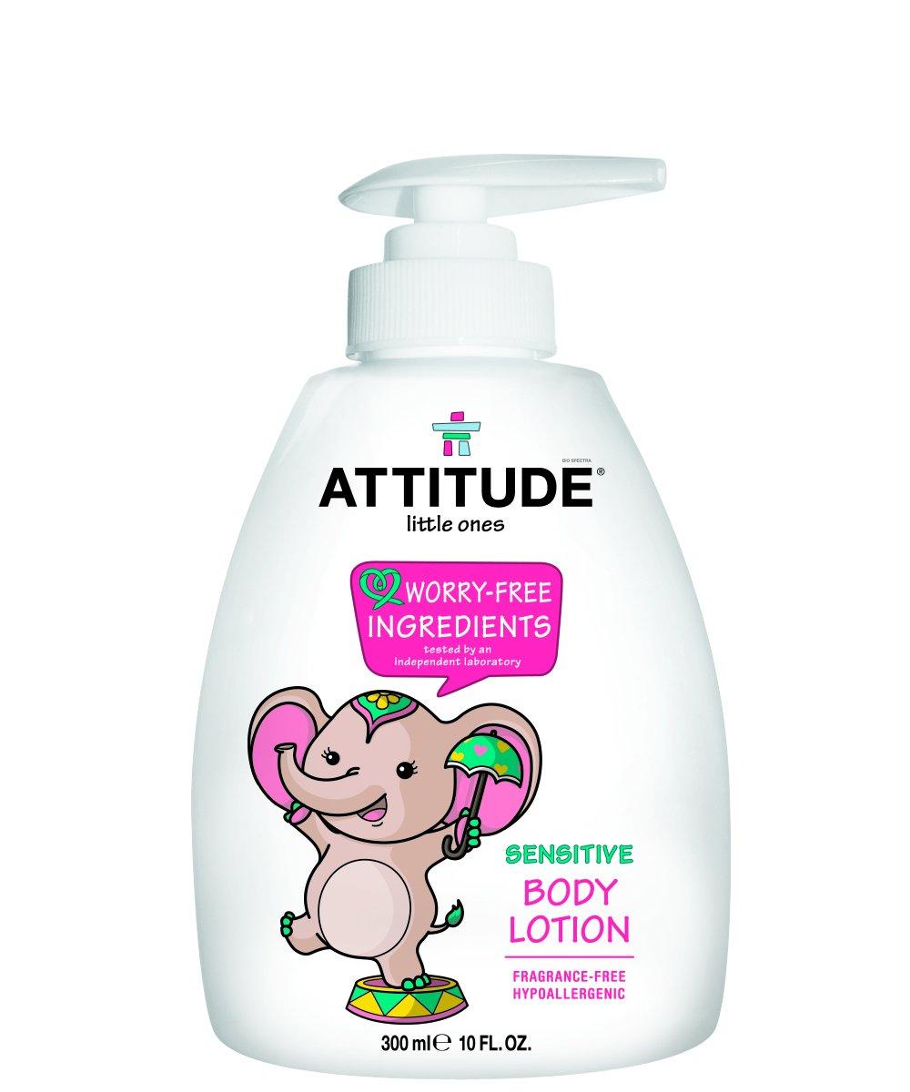 ATTITUDE Baby Lotion, Fragrance Free, 10 Fluid Ounce by Attitude