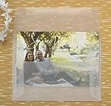 JAM PAPER 8 3/4 x 11 1/2 Booklet Translucent Vellum Envelopes - Clear - 50/Pack