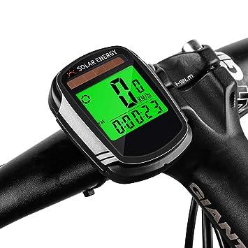 FDGBCF Computadora de Bicicleta Velocímetro Cuentakilómetros ...