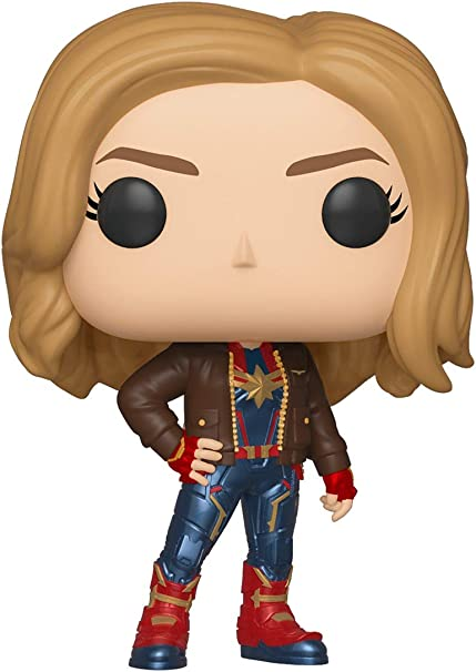 Funko Figura Pop Capitana Marvel (Exclusive) - Marvel: Amazon.es ...