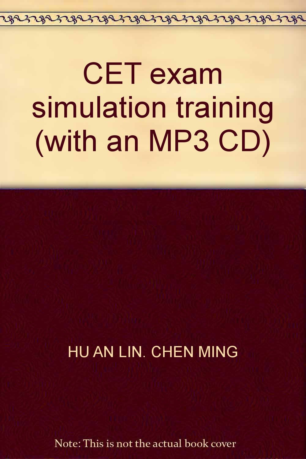 Download CET exam simulation training (with an MP3 CD) pdf