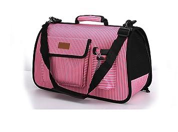 AnGe Bolsa de Transporte para Mascotas Perros Gatos Transportín Plegable , pink: Amazon.es: Deportes y aire libre