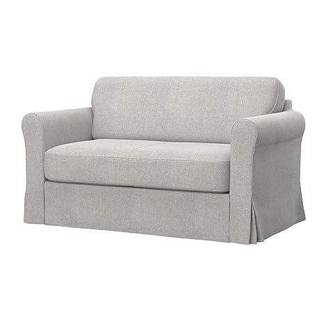 Soferia - IKEA HAGALUND Funda para sofá Cama, Naturel Beige ...