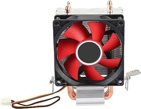 Acouto Ventilador de Caja, Mini PC CPU Cooler Single Silent Fan 2 ...