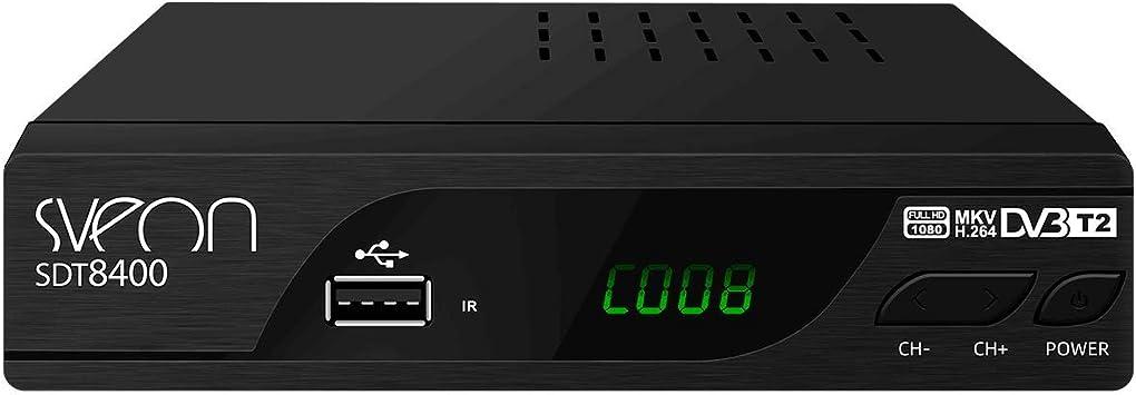 Oferta amazon: Sveon SDT8400 - Sintonizador TDT2 HD con Funciones de Grabación