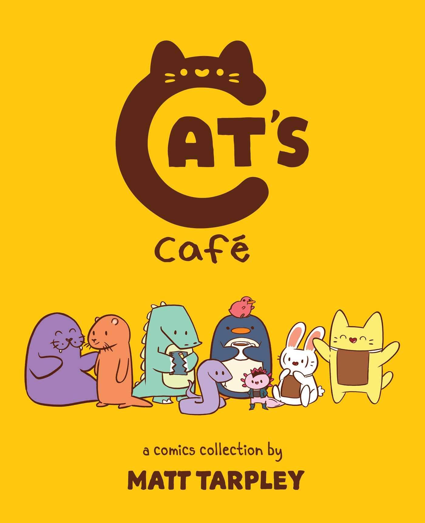 Cat's Cafe: Tarpley, Matt: 9781524855048: Amazon.com: Books