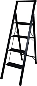 Xtend & Climb SL4H Light Slimline 4 Step, Matte Black