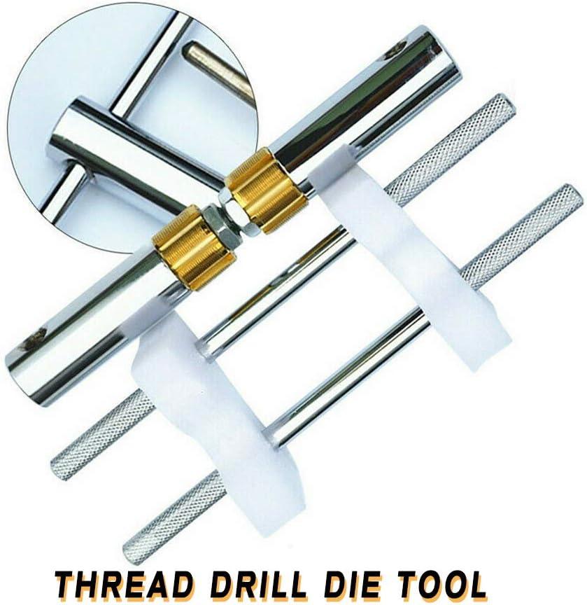 Die Tool TBVECHI Bicycle Bottom Bracket Thread 1.37Five-way Drill Die Tool//Lathe Model Engineer Threading