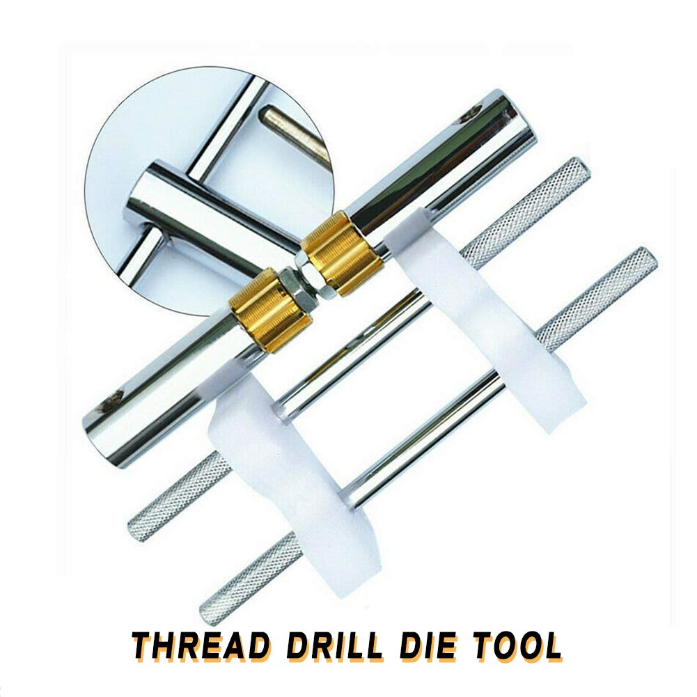 Die Tool TBVECHI Bicycle Bottom Bracket Thread 1.37''Five-way Drill Die Tool/Lathe Model Engineer Threading by TBvechi