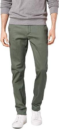 Dockers Washed Khaki Slim Tapered Stretch Twill Pantalones Para Hombre Amazon Es Ropa Y Accesorios