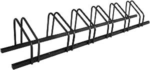 1-6 Bike Floor Parking Rack Storage Stand Bicycle