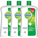 Dettol Original Liquid Soap Jar - 900 ml (Pack of 3)