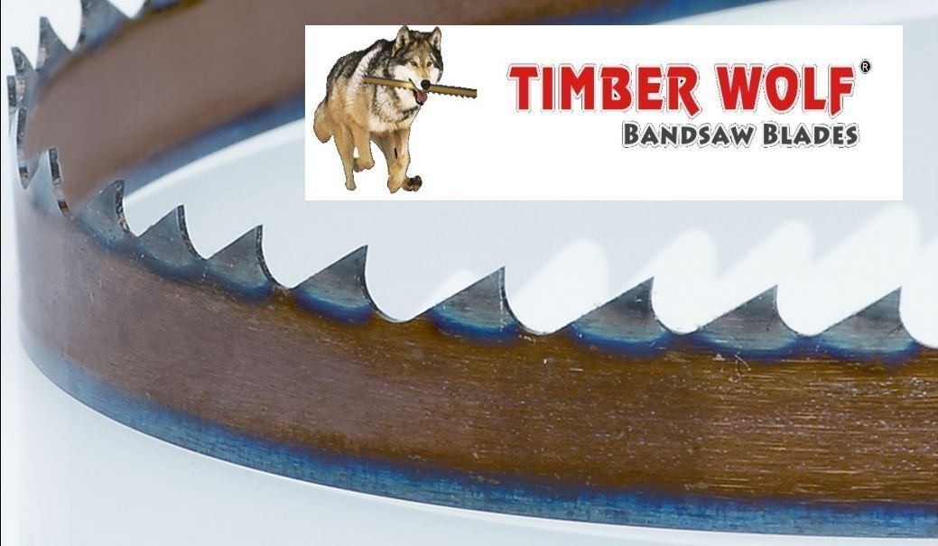 3423VPC 93.5' by 3/4' Timber Wolf Bandsaw Silicone Steel Low Tension Resaw Blade