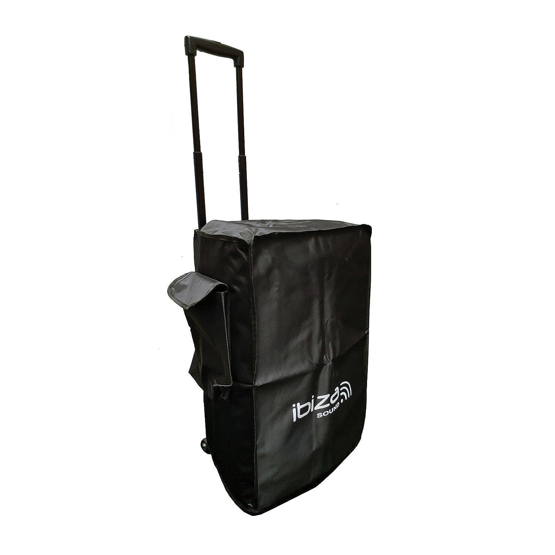 Ibiza Sound PORT15UHF-BT - Megafonía portátil, 15 pulgadas, color negro: Amazon.es: Instrumentos musicales