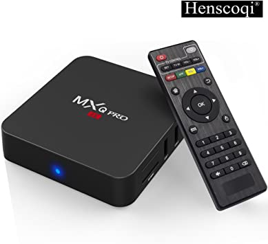 2019 MXQ-4K Android 7.1 Quad Core Smart TV BOX 1GB+8GB Wifi Media Player HDMI US