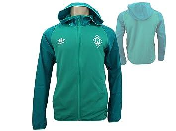 Umbro Werder Bremen - Chaqueta con Capucha, Color Verde ...