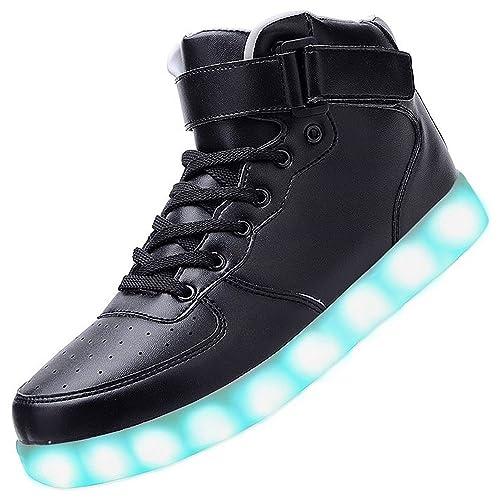 E Sneaker Led Ragazze 46 Scarpe Adult Per Sportive eu25 Ragazzi Usb I Bambina 6YvyIb7gf
