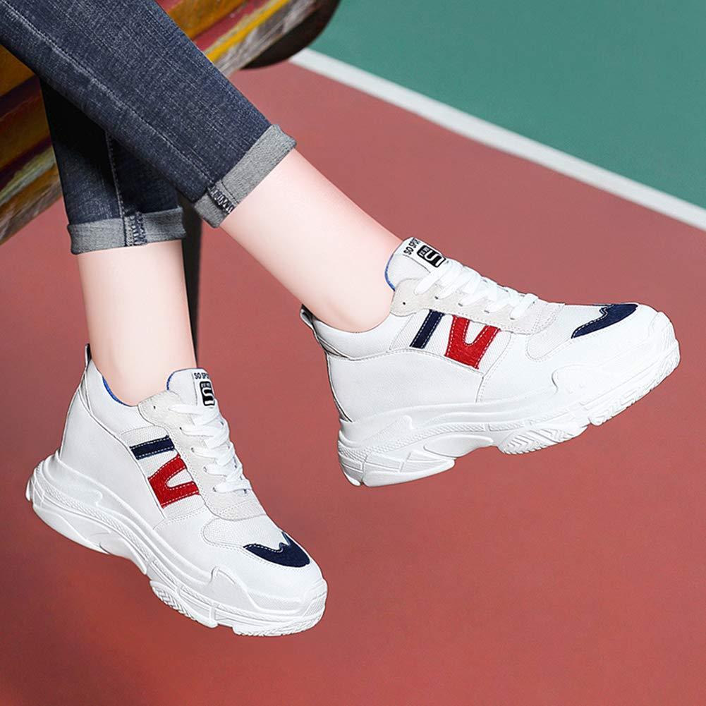 Btrada Women's Fashion Sneakers Flats Flats Flats Casual Round Head Wedges Platforms Comfortable Running/Walking Shoes B07GNDCQ3F Platform f5df12