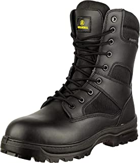 AMBLERS Tavistock honey leather padded collar lace-up non-safety boot size 6-12