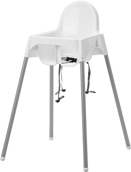Sedile Per Doccia Ikea.Ikea Antilop Sedia Per Bambini Con Sedile Cinghia In Bianco Amazon It Casa E Cucina