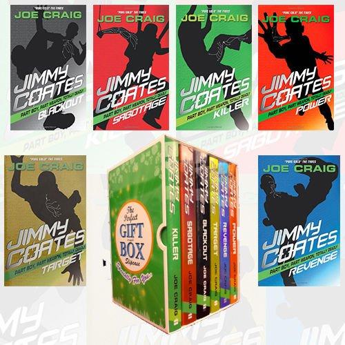 Joe Craig Jimmy Coates Series Collection 6 Books Bundle Gift