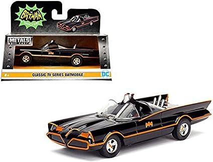 Jada 1:18 Clásico Serie De TV 1966 Batmóvil con Luces Batman Y Robin 98625