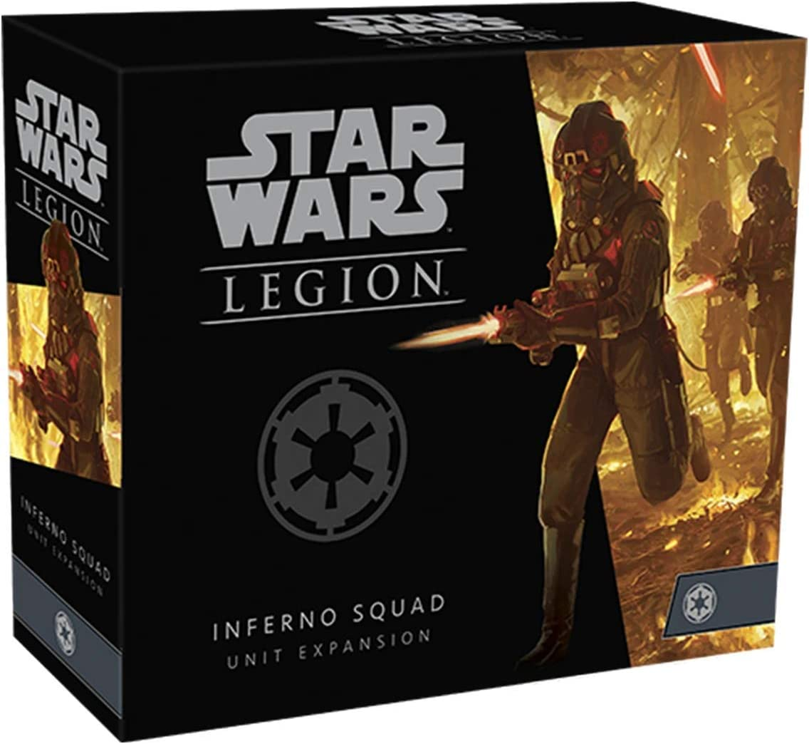 Amazon Com Star Wars Legion Inferno Squad Unit Expansion Toys Games