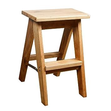 Amazon.com: Ladder stool Step stool- Folding Stool of Solid ...