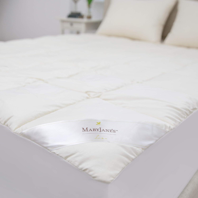 SensorPEDIC MaryJanes Home Mattress Pad Full White