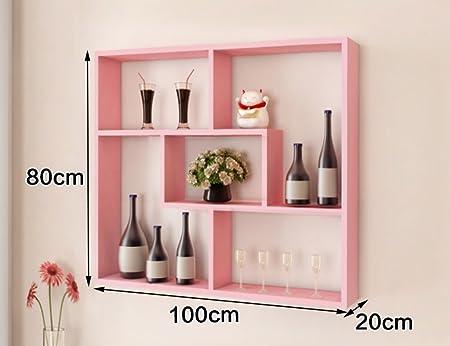 ZCJB Wine Rack Multifunction Living Room Bedroom Wall Shelves Wall ...