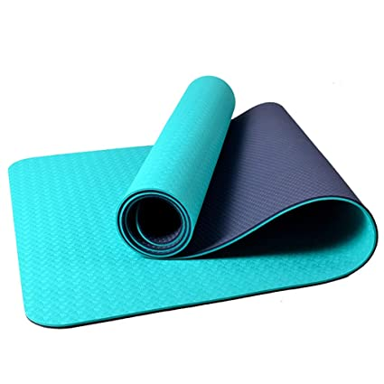 Amazon.com : BMINYA Senior Yoga Practitioners Yoga Mat 4mm ...