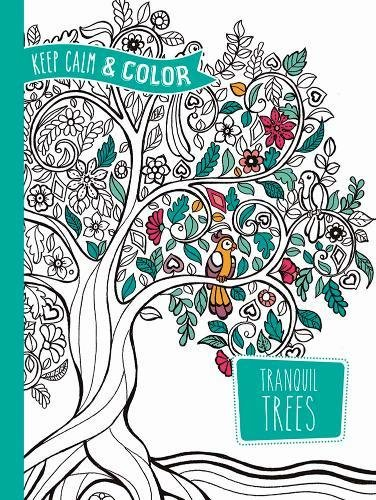 Color Tranquil Trees Coloring Adult product image