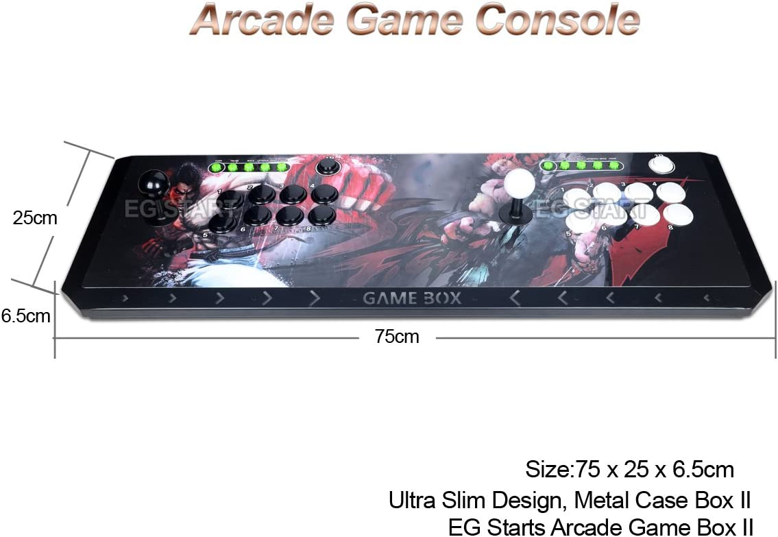 Amazon com: EG STARTS Arcade Video Game Console 815 in 1