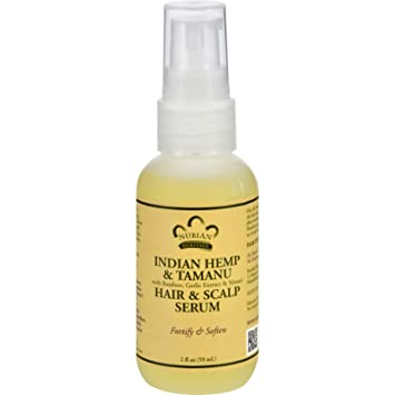 Nubian Heritage Hair Serum, Indian Hemp And Tamanu, 2 Ounce by Nubian Heritage