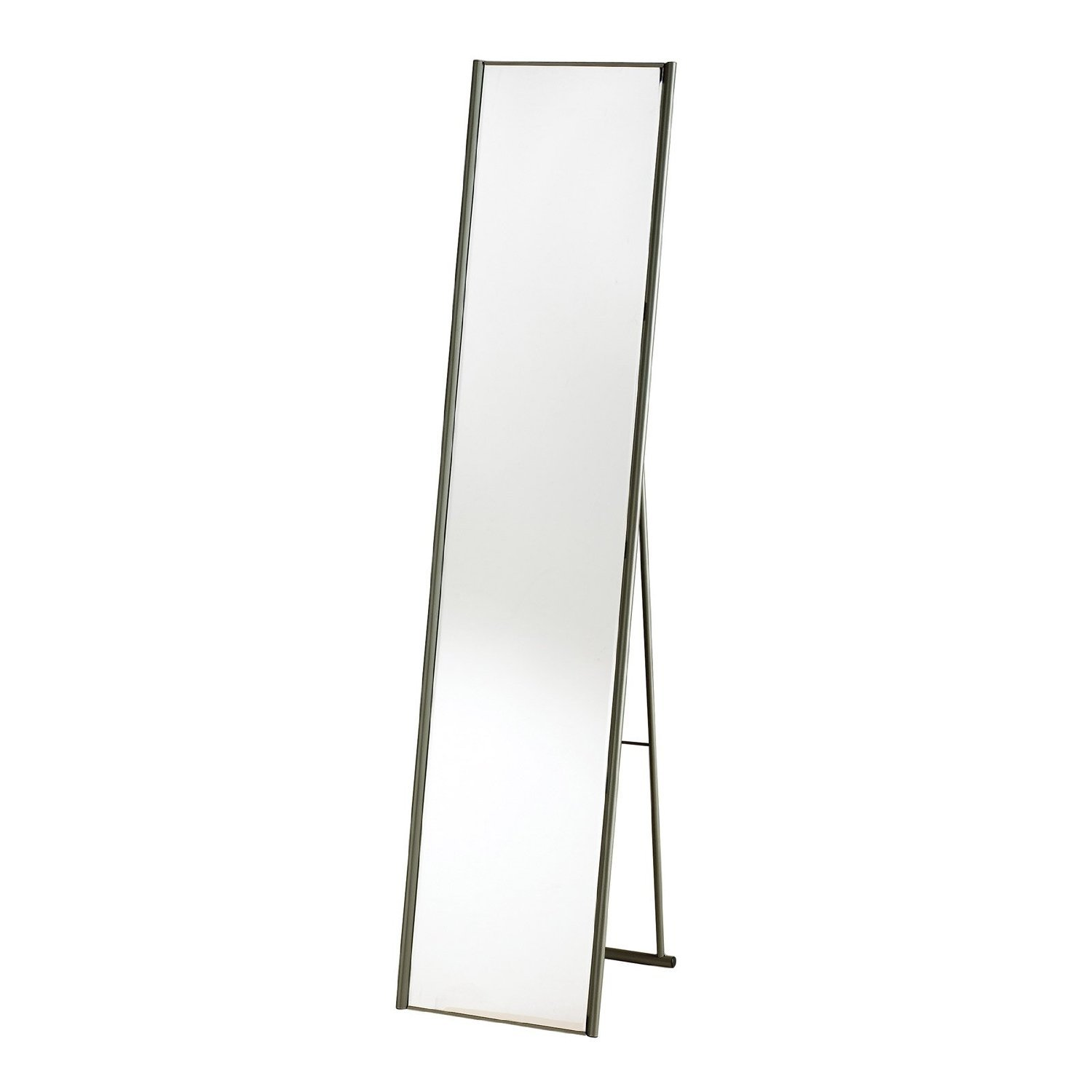 Adesso WK2444-22 Alice Floor Mirror – Powder Coated Champagne Full Length Mirror with Steel Finishing. Home Decor Accessories by Adesso