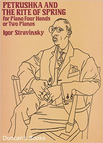 petrushka and the rite of spring for piano four hands or two pianos igor stravinsky 9780486263427 amazoncom books