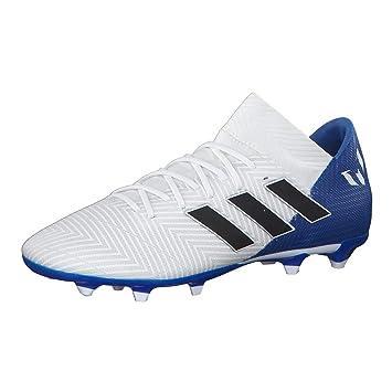 Chuteira Campo Adidas Nemeziz Messi 18.3 FG - Branco - 37  Amazon ... 8ed79ecae33a9