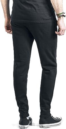 Lonsdale London - Pantalón Deportivo - para Hombre Negro L: Amazon ...