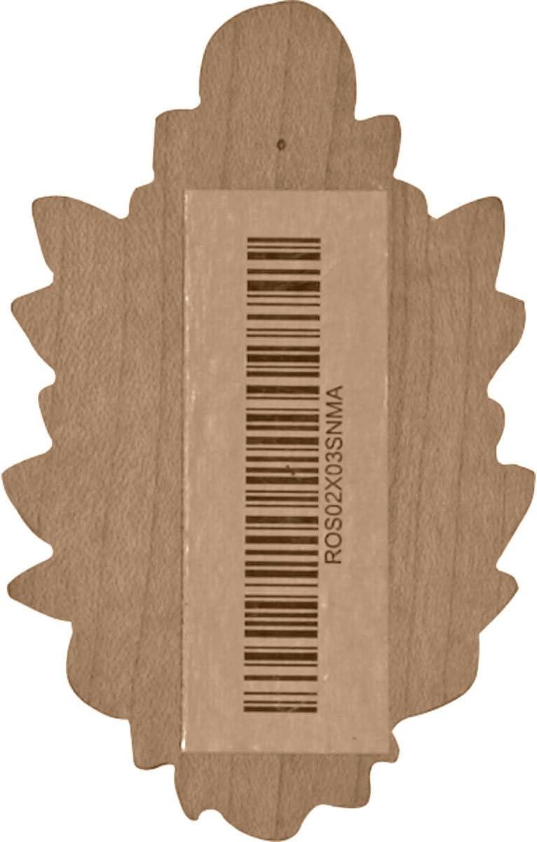 Ekena Millwork ROS02X02OX-CASE-2 Rosette 2 Pack Factory Primed