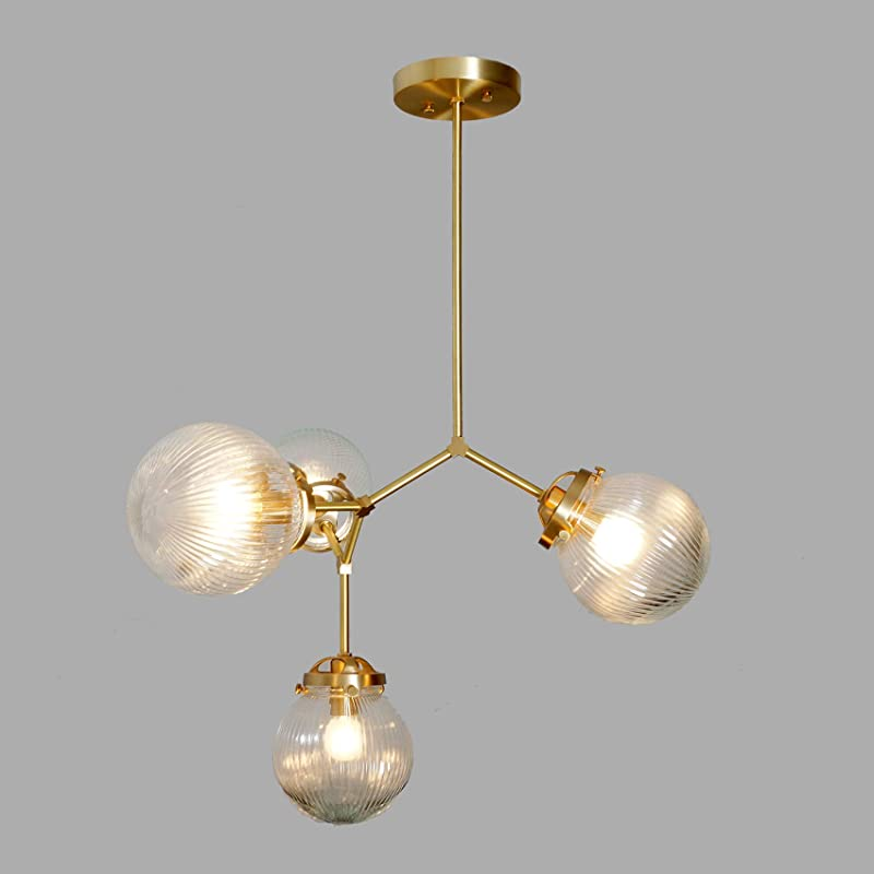 20 Reuse Ideas for Dated Brass and Glass Chandeliers | Diy