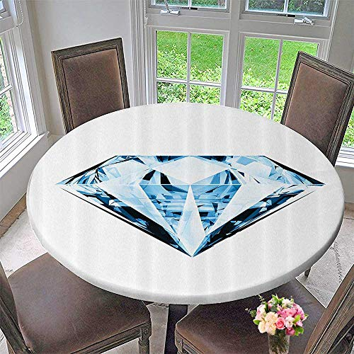 Luxury Chateau Blanket - Mikihome Chateau Easy-Care Cloth Tablecloth Dimensial Transparent Abstract Crystal Diamds Treasure Superman Home Luxury 43.5