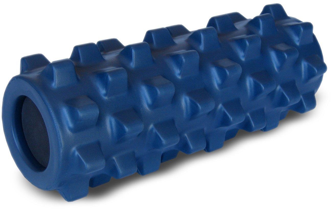ランブルローラー/Rumble Roller-トリガーポイント&筋筋膜リリース/マッサージ&ストレッチローラー B00R7BKFV4 スモールサイズ|ネイビー(スタンダードフォーム) ネイビー(スタンダードフォーム) スモールサイズ