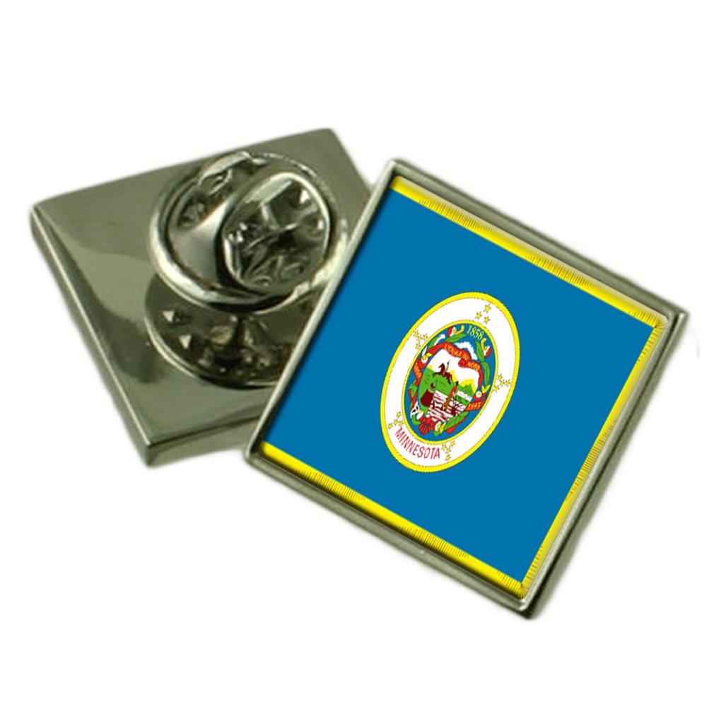 ミネソタ州の旗ラペルピンバッジシルバー 925 B01MR7X29M 製 製 B01MR7X29M, QATARI -カタリ-:a99094a7 --- itxassou.fr