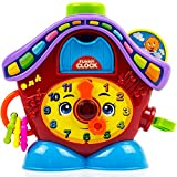 Toysery Clock Toys for Kids - Early Educational Toy for...