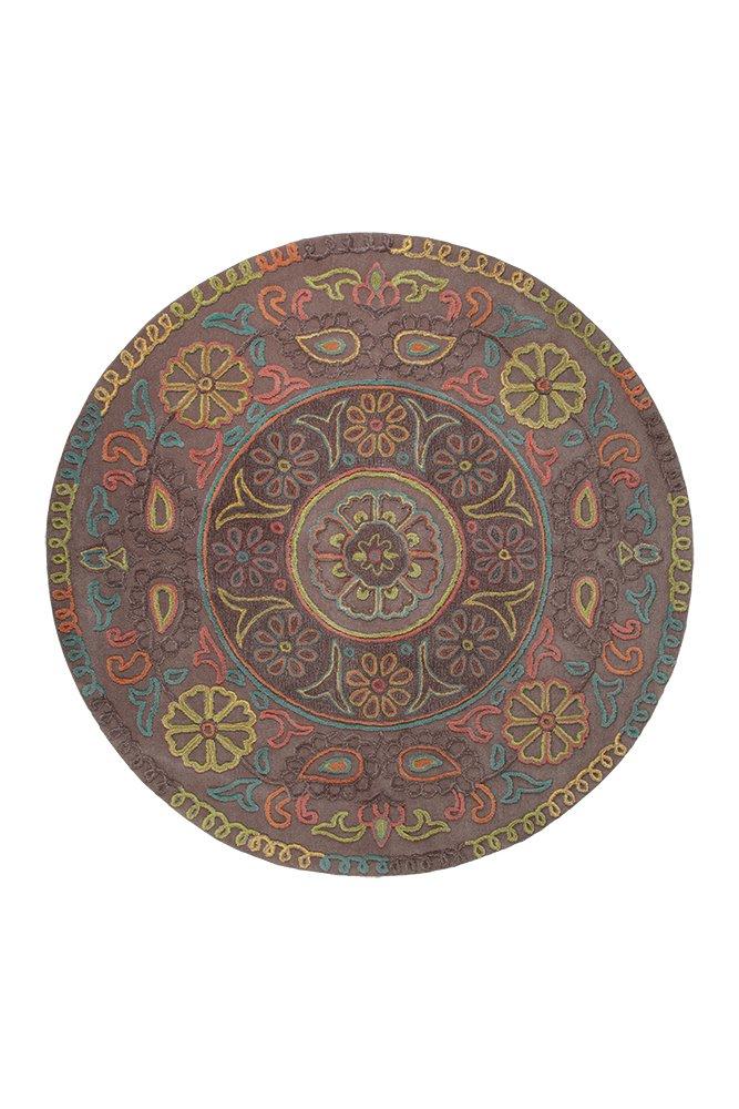 Esprit Teppich Mandala (Ø 150 cm (rund))
