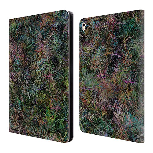 mer Passage Abstract Confetti Leather Book Wallet Case Cover for iPad Pro 9.7 (2016) ()